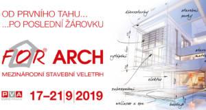 Vstupenka zdarma na For Arch 2019